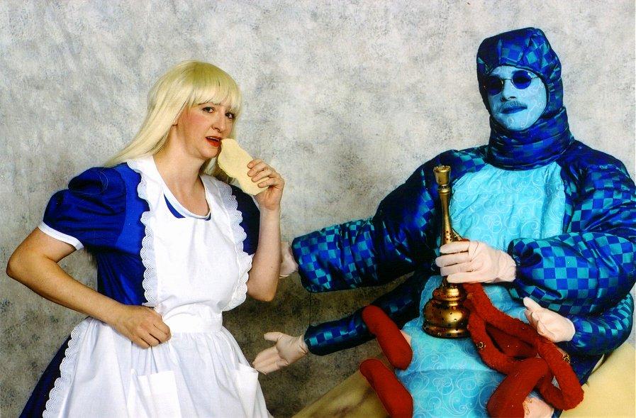 Alice In Wonderland where  Alice In Wonderland Hookah